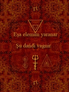 Eşa elemim yaranar - Şu dańdi vagnir Cover
