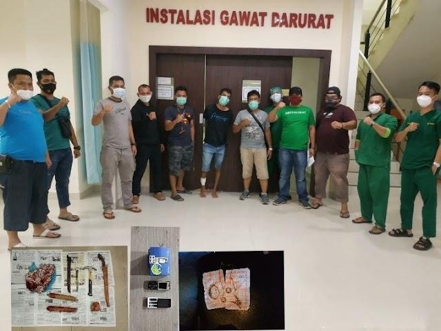 Reskrim Polres Labuhanbatu Unit Pidum berhasil menangkap pelaku Curas di Jln AMD Simpang Mangga Bawah