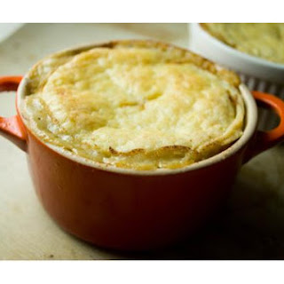 Mustard-Tarragon Chicken Pot Pies