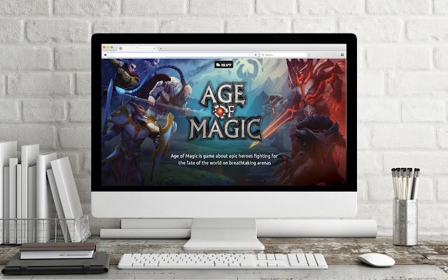 Game Theme: AGE OF MAGIC