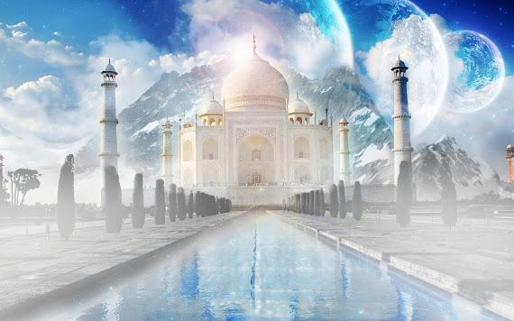 besplatne pozadine za desktop 1680x1050 free download svjetske znamenitosti Taj Mahal