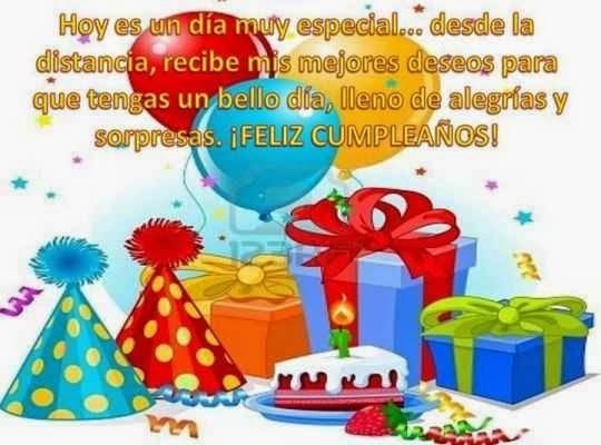 Amigo feliz cumpleaños te quiero