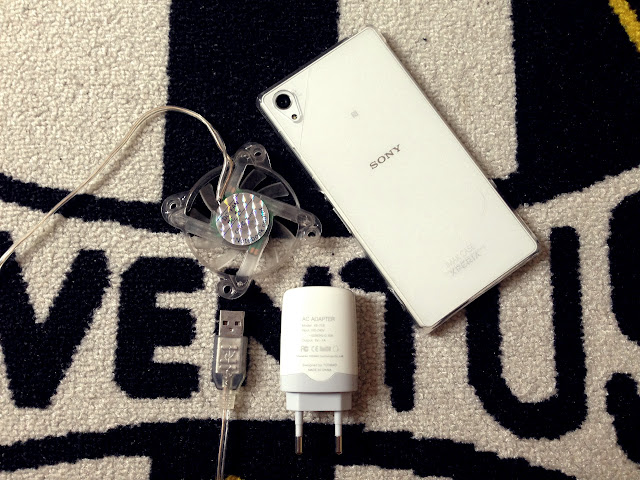 DIY Smartphone Cooler Dari Kipas Notebook Cooler