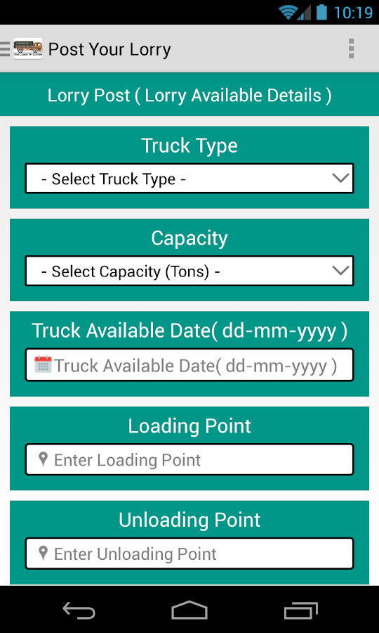 Lorryguru - Loads and Lorries- screenshot