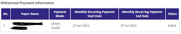 Cara paling mudah untuk tahu tarikh pembayaran setiap bulan i-sinar