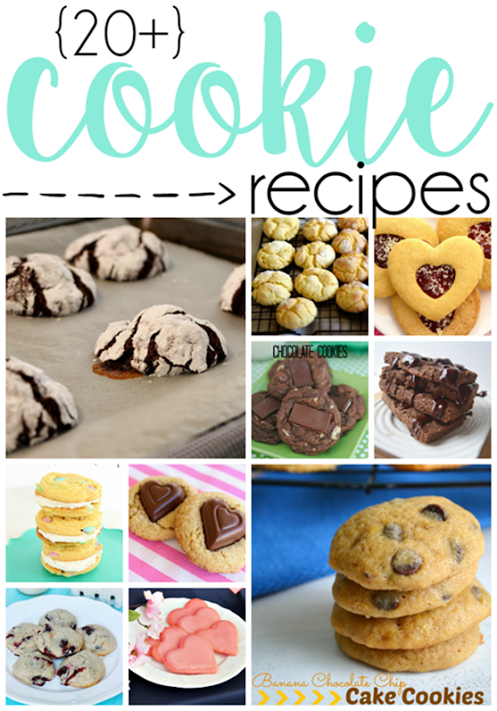 Over 20 Cookie Recipes at GingerSnapCrafts.com #cookies #recipes #linkparty #features_thumb[1]