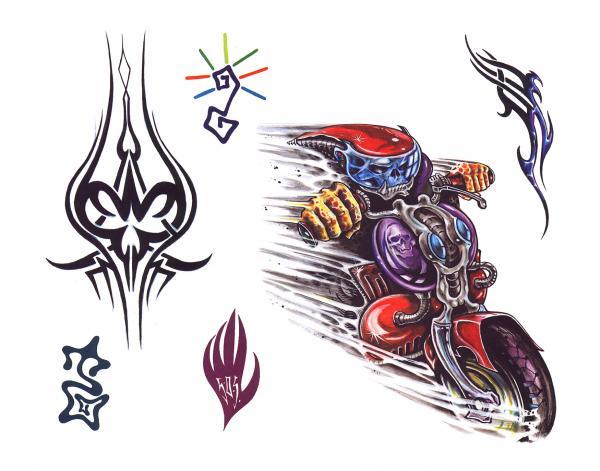 Design Of Magical Tattoo 13, Fantasy Tattoo Designs
