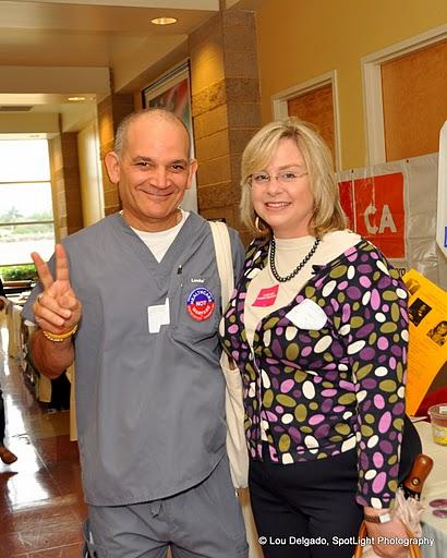 Dr. Bill Honigman and former state legislative candidate Melissa Fox