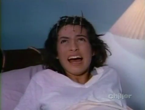 Freddy gives the future Olivia Benson bangs.