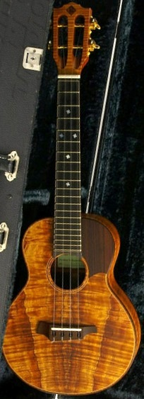 Kaimana Sato Toda Guitars Tenor Ukulele