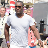 WWW.ENTSIMAGES.COM -   David Harewood   at   Get Reading festival at Trafalgar Square, London Organised by the Evening Standard in partnership with e-reader firm NOOK July 13th 2013                                             Photo Mobis Photos/OIC 0203 174 1069