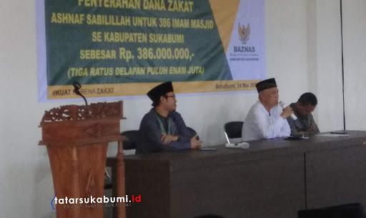 Potensi Penerimaan Zakat Mal di Sukabumi Mencapai 1,4 Triliun