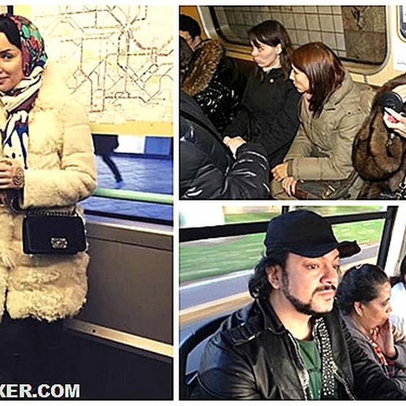Звезды тоже ездят в метро