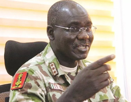 EXCLUSIVE!!! Nig. Army debunks News on appointment Of New Chief of Army Staff