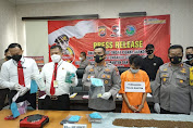 Ditresnarkoba Polda Banten Amankan 1 Orang Tersangka Pembuat Tembakau Gorila