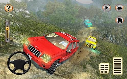 Uphill Offroad Parado 4x4 Jeep Hill Climb řidič - náhled