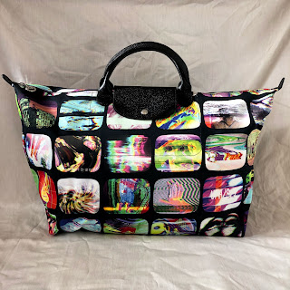 Jeremy Scott x Longchamp SCREENS Le Pliage Bag