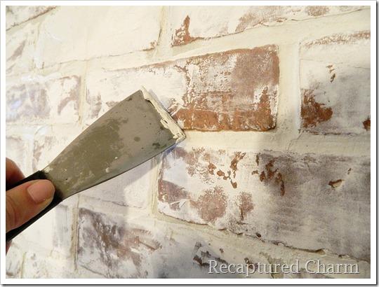 Faux Paint Shiplap Wall