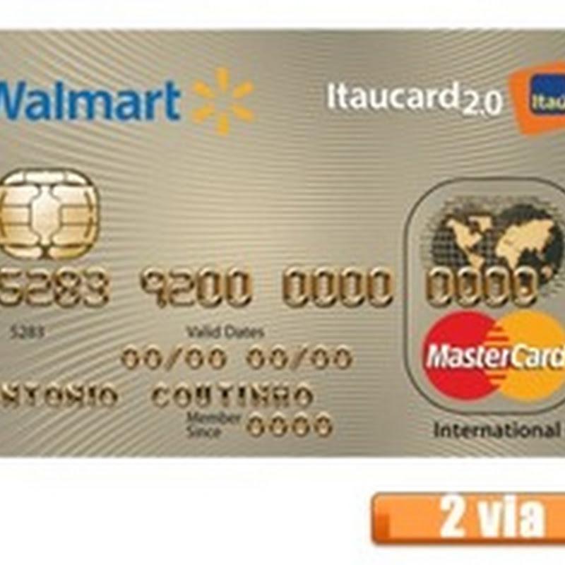 Walmart 2.0 Itaucard - 2 Via de Boleto