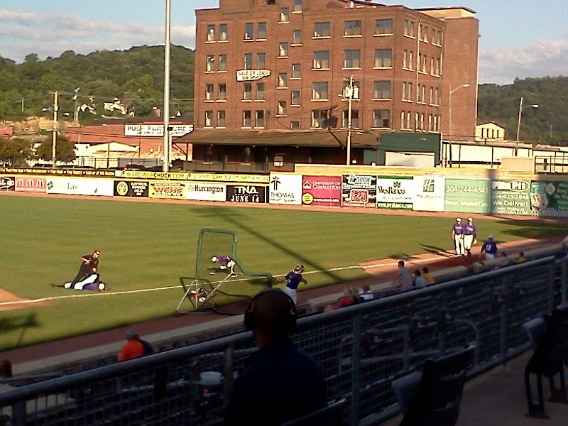 Appalachian Power Park, right field