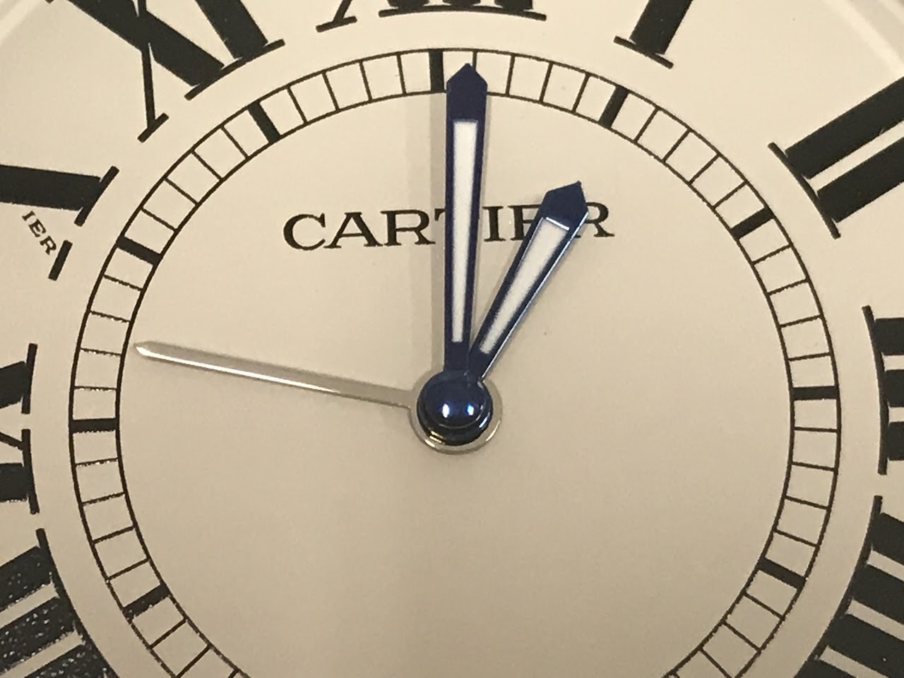 Cartier trinity travel alarm clock shophousingworks amipublicfo Images