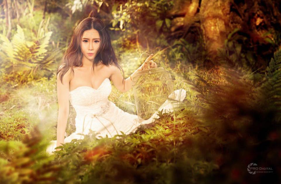 Nu Phạm biến hóa thành tiên nữ trong rừng vắng - Ảnh 3