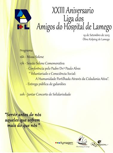 Liga dos Amigos do Hospital de Lamego comemora 23 anos de existência