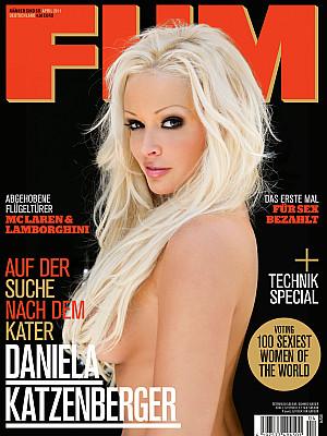 Daniela Katzenberger zieht sich aus. Aber mit nackt ist