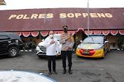 Anggota DPR R I Supriansa S.H Melaksanakan Kunjungan Silaturahmi di Mapolres Soppeng