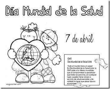 El Dia Mundial De La Salud Para Niños Hay Niños