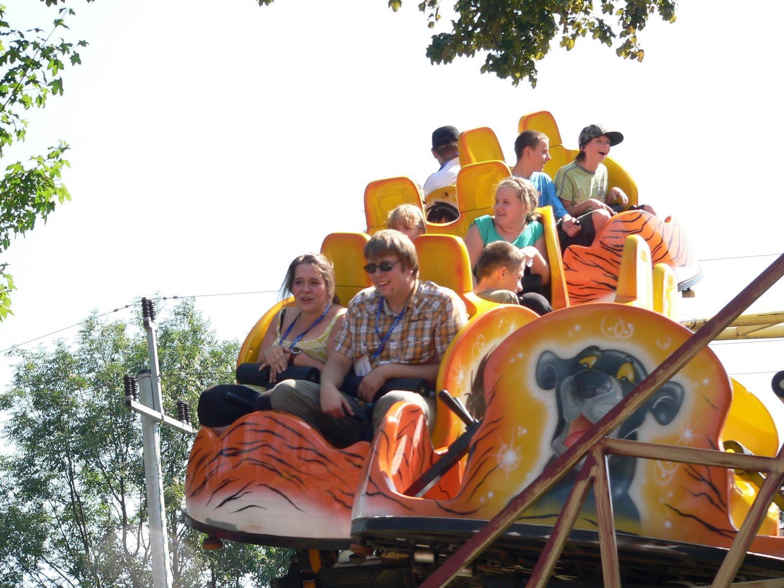 W sobotę, 27 sierpnia 2011 roku, w parku rozrywki Rabkoland szaleli Mali Pacjenci i ich rodzeństwo:)...a czasem też rodzice 🙂 Pod opieką wolontariuszy MHD zabawa była odjazdowa, a po niej wszyscy spotkaliśmy się w Zajeździe pod Chmurką na małe co nieco :).  Autorka zdjęć: Pati :)