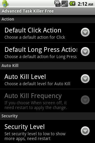Advanced Task Killer Pro