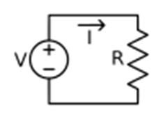 Ohms-law-voltage-source