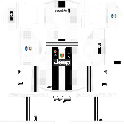Juventus New Kits 2018-19 Mod Serie A (DLS 18 &