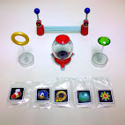 Star Post, Ring, Item Box, Chaos Emerald, and various items for Item Box