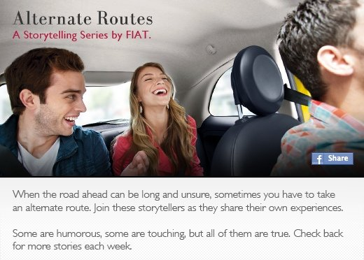Fiat USA Alternate Routes Campaign