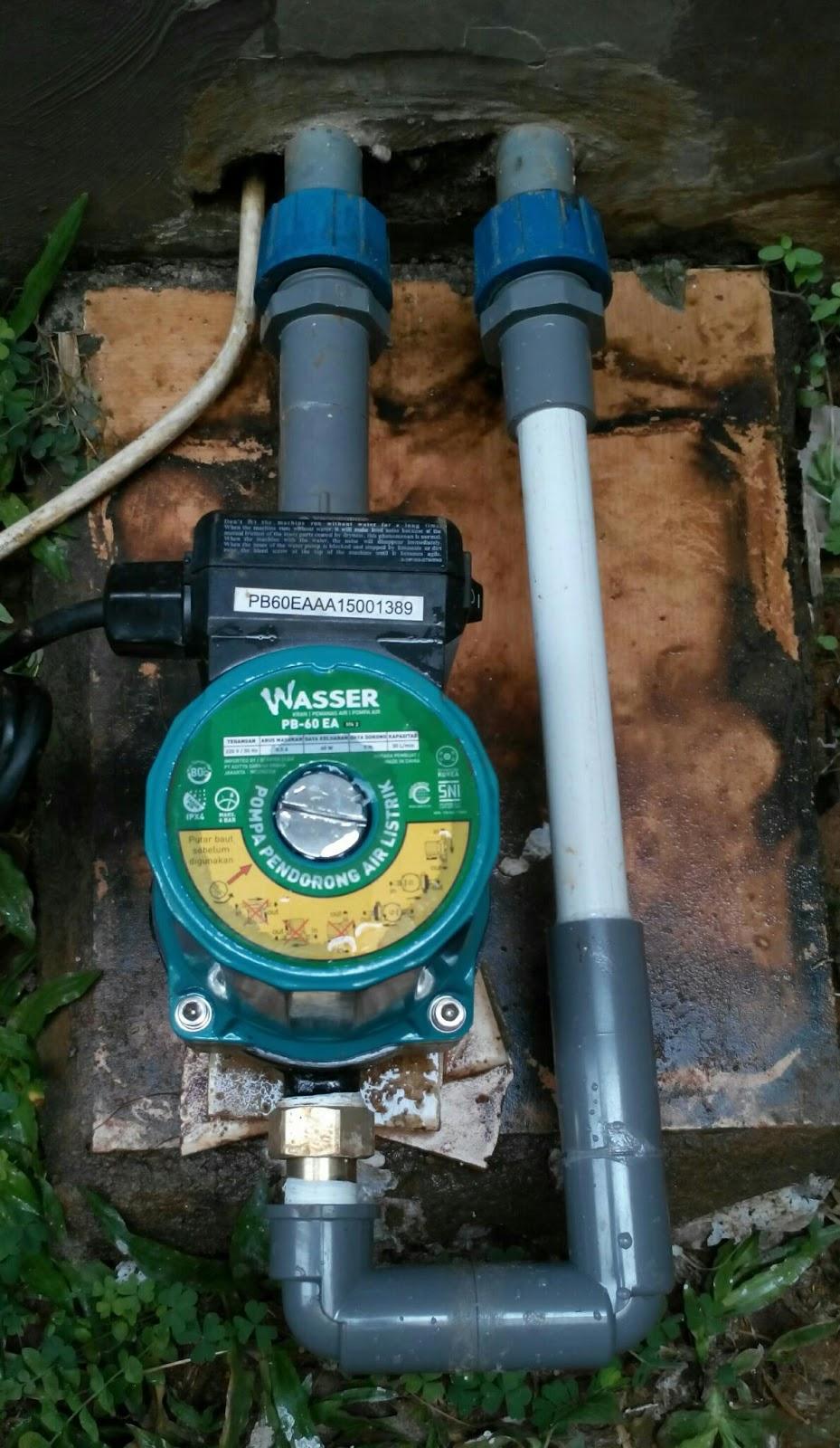 Wasser Pompa Booster PBMH90-3EA. Source · Selain itu kelebihan dari pompa booster adalah