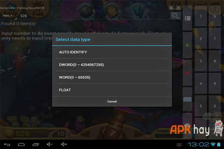 3Hướng dẫn hack tất cả game Android bằng GameKiller