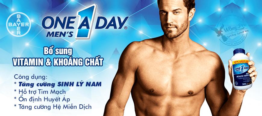 One A Day Men's - Sự hoàn thiện dành cho phái mạnh