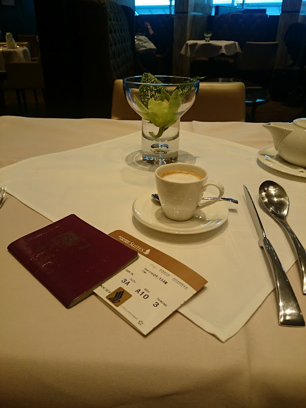 SIN%252520PVG 14 - REVIEW - Singapore Airlines : The Private Room First Class Lounge [Breakfast Service], SIN T3