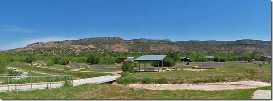 Camping at Palo Duro Canyon State Park