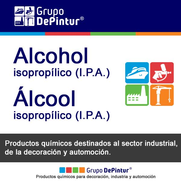 ALCOHOL ISOPROPILICO (I.P.A.)