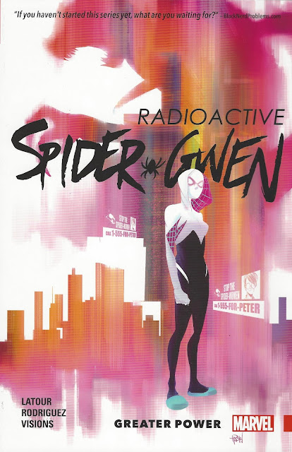 Spider-Gwen, v. 1: Greater Power cover