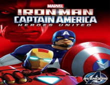 فيلم Iron Man and Captain America Heroes United