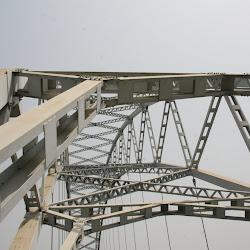 Ghana: Atimpoku Brücke nach Ho