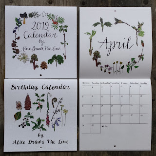 Calendars by Alice Draws The Line