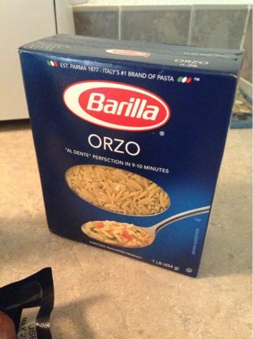 how to cook orzo al dente