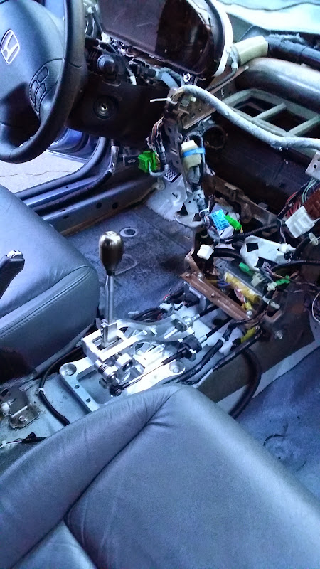 K-Tuned billet shifter review - Honda Accord Forum : V6