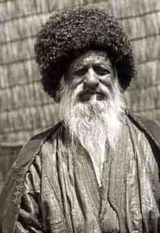 Народная одежда туркмен