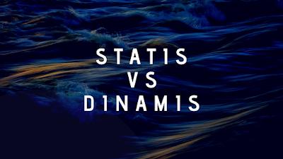 pastinya sebuah website yang akan dibentuk tentunya mempunyai suatu tujuan tertentu Website Statis dan Dinamis